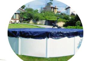 Winterabdeckung-Pool