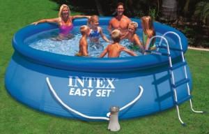 Intex Aufstellpool Easy Set Pools®, Blau, Ø 366 x 91 cm1